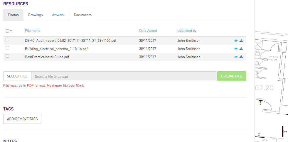 Document Integration with PAM