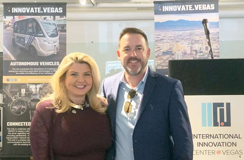 PAM Director Jason Hutty with Las Vegas Mayor Pro Tem Michele Fiore